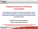 Integrated Systems for Modeling Sustainability